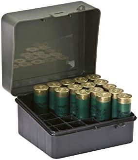 Plano - Caja para munición de Escopeta, 12 o 16 Huecos de Calibre 89, Color Verde Aceituna: Amazon.es: Deportes y aire libre