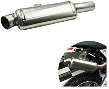 エキゾーストサイレンサー 第マフラーピットダートバイクアクセサリー自動車部品のオートバイのエキゾーストパイプモトクロスリアセクションテールリンクパイプスリップ