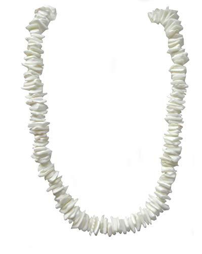 Hawaiian Shell Necklace - Puka Necklace-18 Inch-Surfer Necklace-Tropical Necklace-Beach Necklace - Shell Necklace-Hawaiian Necklace-Beach Necklace