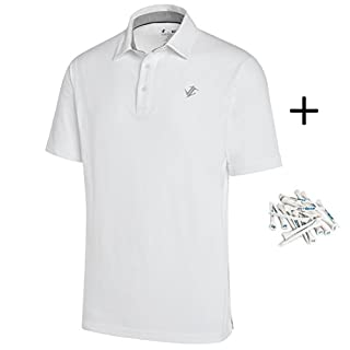 Dry Fit Cotton Polo Shirt - with golf tees