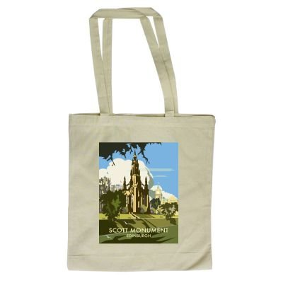 By design Scott 420mm Thompson with Dave Art247 x Illustrator Monument of Tote 380mm Shopper Bag Edinburgh Zq7zIY