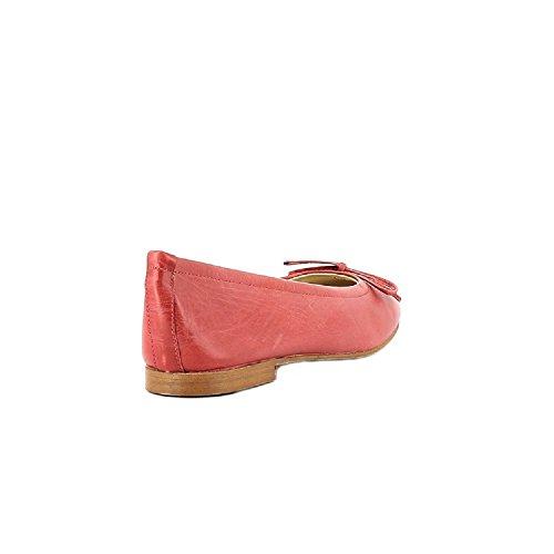 830 Rouge Rosso Elizabeth Cerise Ballerine Stuart Cesarine Donna EaYqgP8