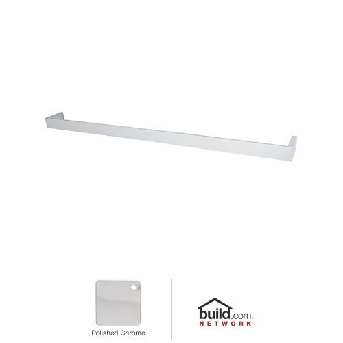 Rohl QU103-APC 30-Inch Wave Single Towel Bar in Polished Chrome