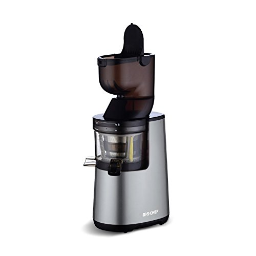 BioChef Atlas Whole Slow Juicer (250W / 40 RPM / LIFETIME Warranty) Wide Chute Juicer ...