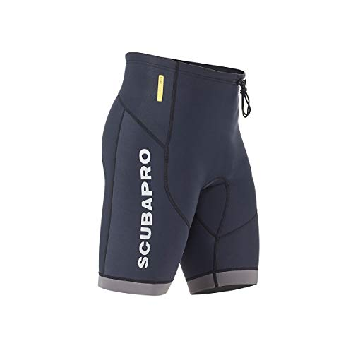 Scubapro Men's 1.5mm Everflex Dive Shorts (Black, X-Large)