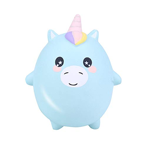 Squishes Toys , Elevin(TM) Kawaii Squeeze Squishy Slow Rising Jumbo Giant Scented Cartoon Cute Animals Stress Reliever Toy (A Green)]()