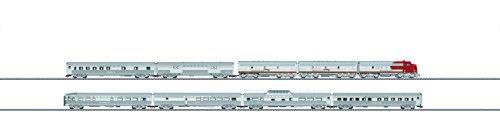 Mrklin 26496 HO Scale Pack train Santa Fe Super Chief (Passenger Santa Car Fe)