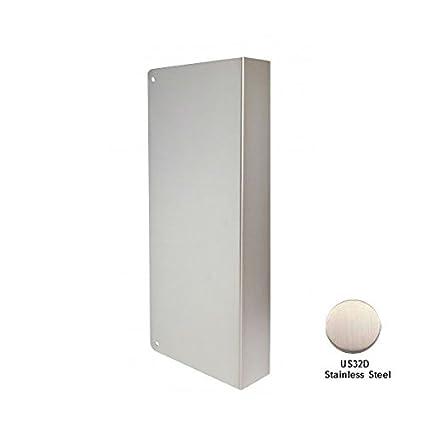 Don-Jo 30-S-CW Satin Steel Blank Door Wrap-Around with  sc 1 st  Amazon.com & Don-Jo 30-S-CW Satin Steel Blank Door Wrap-Around with Trim Screws ...
