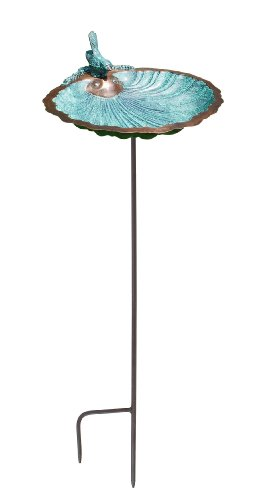 Achla Designs Scallop Shell Birdbath and Feeder with Stake Review