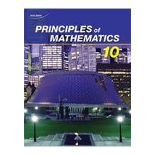 Principles of Mathematics 10: Student Text + Online PDF Files