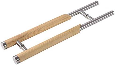 シンプルでモダンなステンレス鋼の木製スライドドアハンドル/ガラスドアハンドル、ショッピングモール/ホーム120cmDIYツールハードウェアに適しています