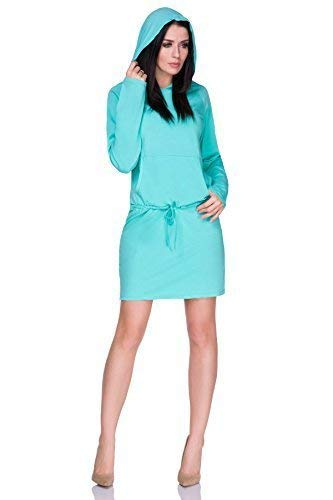 Womens Skater Dress Scoop Neck Party Formal Cocktail Dress Sizes 8-12 FA451