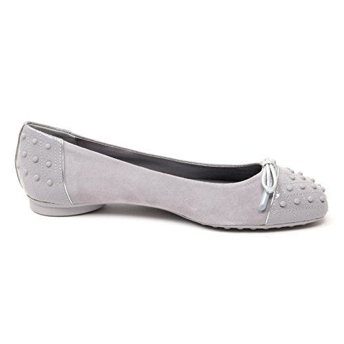 B4596 ballerina donna TODS DEW scarpa gommini grigio shoe woman Grigio