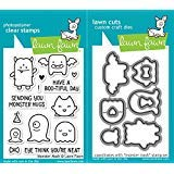 Lawn Fawn Monster Mash Clear Photopolymer Stamps Bundle