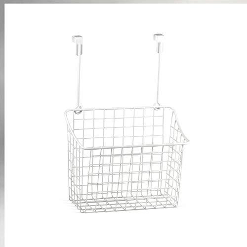 Spectrum Diversified Grid Storage Basket, Large, White