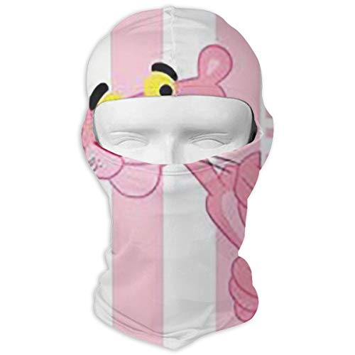 Lbbb1994 Pink Panther Dust Sun Protection Full Face Mask Hood- Cycling Motorcycle Breathable Neck Cover in Summer - Gear for Men & Women - Ultimate Protection from The Elements]()