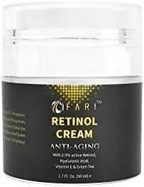 Retinol Anti-Aging Moisturizer Cream for Face, Neck, Wrinkles, Acne and Eye Area , 1.7 FL oz