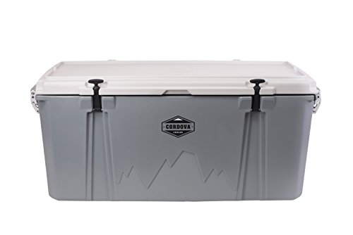Cordova Coolers 125 Extra Large Cooler - Gray