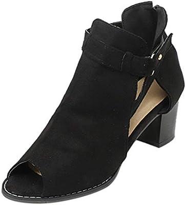 f5271494d7d Amazon.com: Women Sandals High Heels 2019 ❤ Ladies Fish Mouth ...