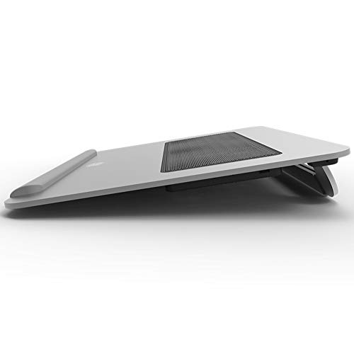 Ho,ney Laptop Cooler - Folding Portable Wear-Resistant Anti-Slip, Double 8cm Silent Fan for 15 Inches Or Less -1053 Notebook Cooler by Ho,ney (Image #2)