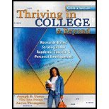 Thriving in College and Beyond, Cuseo, Joe and Fecas, Viki S., 0757547818