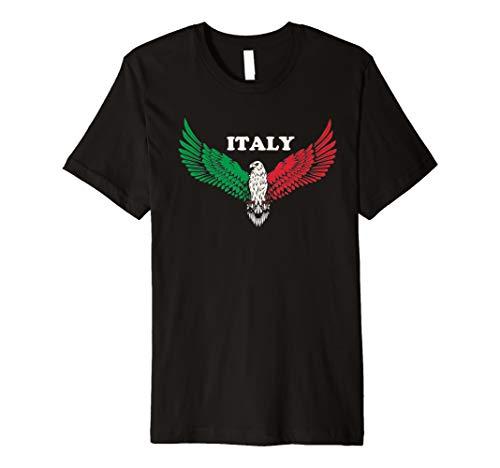 Flag of Italy,Italian Patriotic Gift Premium T-Shirt]()