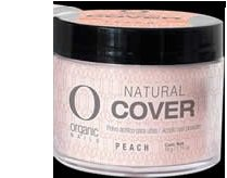 (COVER PEACH ORGANIC NAIL available 3 sizes 14g,50g,140grs (14gram) )