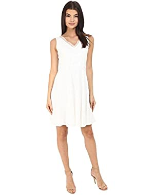 Womens Fit & Flair Sequin Dress CD6B1V1D