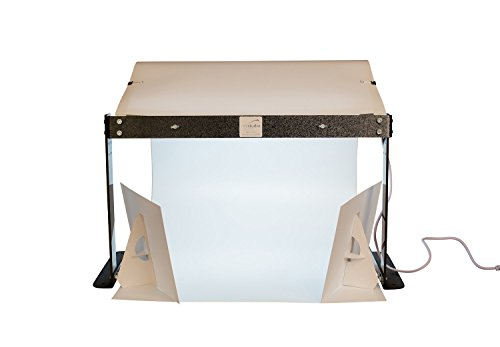 MyStudio PS5LED Tabletop Lightbox Photo Studio With LED Lighting For Product Photography , White by MyStudio
