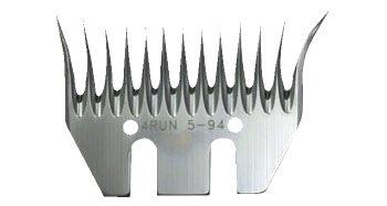Untermesser MUSTANG SPRINT für Schafschermaschine (5-Stück-Packung)