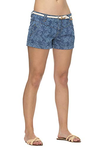 Ragwear Shorts Damen Heaven Denim 2011-50007 Blau Blue 2040