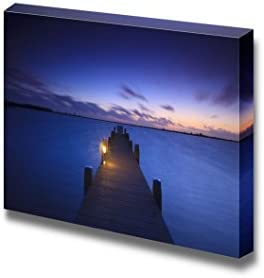 A Tranquil Sunset Over a Lake in The Netherlands Wall Decor