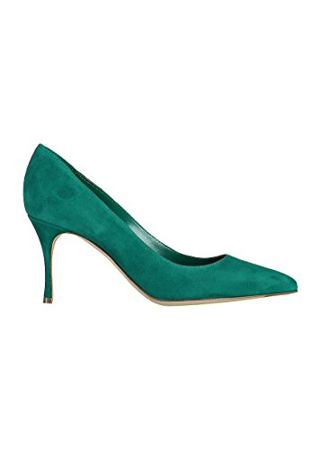 sergio-rossi-womens-a43841mcaz013710-green-suede-pumps