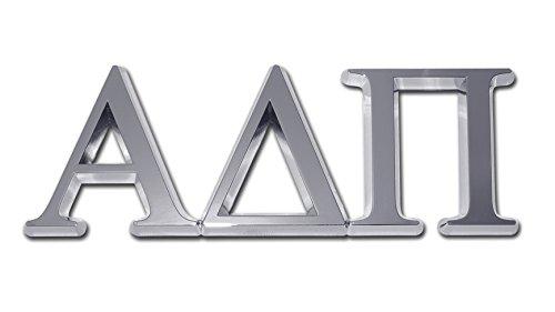 Alpha Delta Pi ADPI Sorority Chrome Auto Emblem