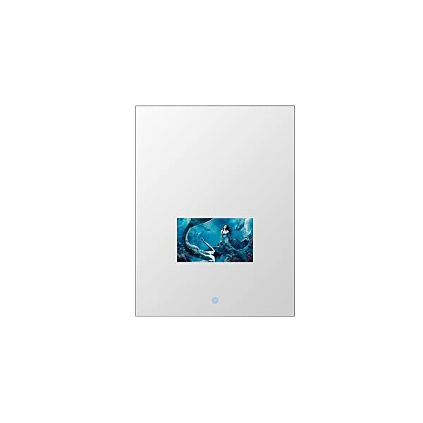 """Soulaca 24""""x32"""" Custom Rectangle Vanishing Mirror Television with 15.6inch LED Screen M156FN-V2 1"""