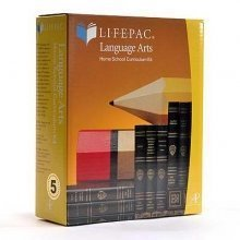 Lifepac Language Arts 7th Grade Set of 10 LIFEPACs Only