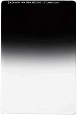 ProMaster HGX プライム 100x150mm ミディアムグラデュエーション ニュートラルデンシティフィルター GND16X (1.2)