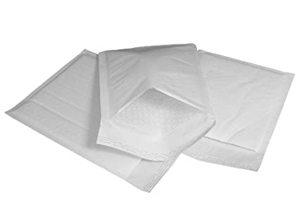 50 x JL6 J/6 White Padded Bubble Bags Envelopes 290x445mm (EP9) Globe Packaging