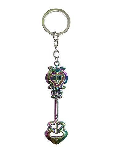 (Cosplay Fairy Tail Keys, Lucy Heart Key Chain Celestial Spirit Gate Keyring, Zodiac Keys and Keyring, (处女座)