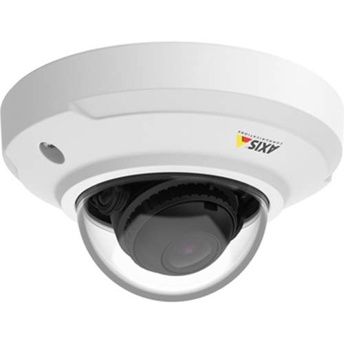 Axis Surveillance Video (Axis Communications 0806-001 M3046-V - Network Surveillance Camera - Dustproof/Waterproof/Vandal-Proof - Color (Day & Night) - 2.4Mm Lens - 4 MP - 2688 X 1520, White)