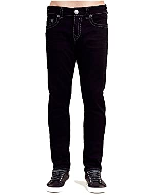 Men's Rocco Super T Relaxed Skinny Fit Jeans in Dark Inglorious