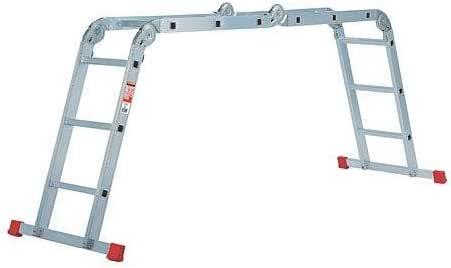 Rolser - Escalera Aluminio Multiusos 4X3: Amazon.es: Hogar