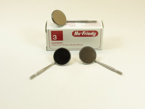 Hu-Friedy MIR5/3 Front Surface Mouth Mirror (Pack of 3) by HU FRIEDY