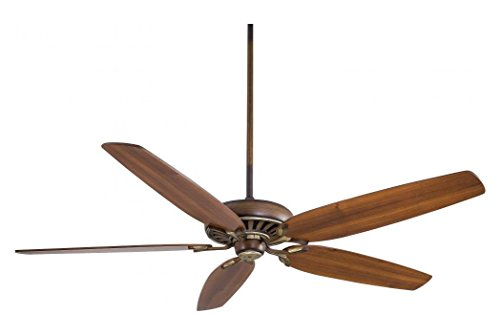 [Belcaro Walnut 5 Blade 72In. Great Room Ceiling Fan - Wall Control And Blades Included] (72