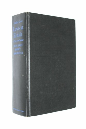 - Lewis at zenith; a three-novel omnibus: Main Street. Babbitt. Arrowsmith