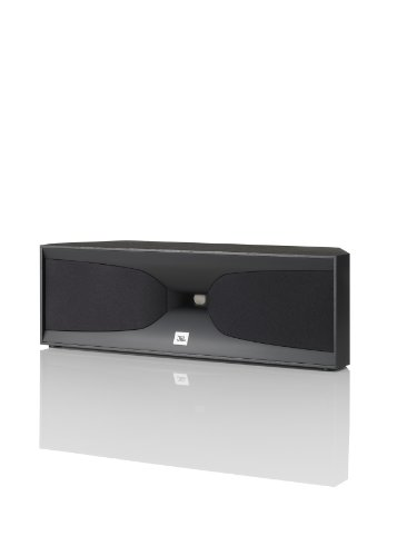 JBL Studio 520CBK 2-Way Dual 4-Inch Center Channel Speaker by JBL