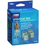 Carex Universal Tips, Set of 4, Pack of 6