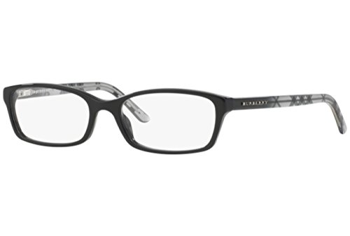 Burberry Women's BE2073.3164.53 Eyeglasses, Black, 53 mm (Frames Burberry 53mm Optical)