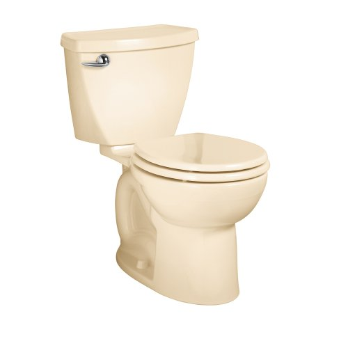 American Standard 270DA001.021 Cadet 3 Round Front Two-Piece Toilet with 12-Inch Rough-In, Bone by American Standard
