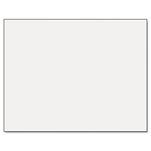 Pacon Six-Ply Poster Board, 28 x 22, White, 25/Carton by Pacon